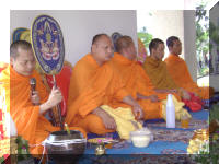 Monks at House Party
